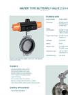 Model Z 611-K - Wafer Type Butterfly Valve - Datasheet