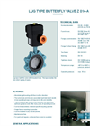Model TW-M - Wafer Type Butterfly Valve - Datasheet