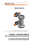 EBRO - Cycle Lock System - Operating Instructions Manual