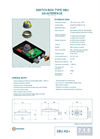 Model SBU-AS-I - Switch Box Unit - Datasheet