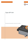 Type EP 501 - Electropneumatic Positioner and Process Controller - Operating Instructions Manual