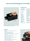 Technical Datasheet Digital Positioner Unit EBRO