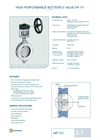 Technical Datasheet HP 111 Valve EBRO