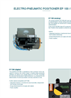 Technical Datasheet Analog Positioner Unit EBRO