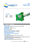 Recycling Machines Technical Sheets - PMG-N 600 Brochure