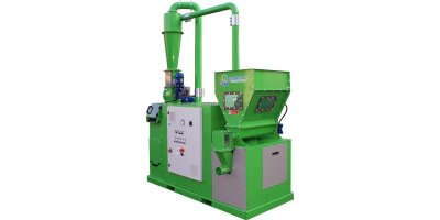 Guidetti - Model RECO MILL Line - Copper Cable Granulator for Recycling of Electric Cables and Radiators Recycling