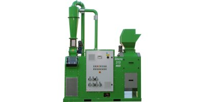 Guidetti - Model SINCRO MILL Line - Compact Granulators for Recycling of Electric Cables and Radiators Recycling