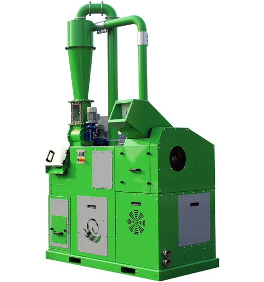 Guidetti - Model Sincro Mill Series - Granulators for Electrical and Electronic Cables