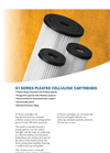 S1 Series - Pleated Cellulose Cartridges Brochure