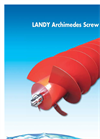 Landustrie LANDY - Archimedes Screw PUmps - Leaflets