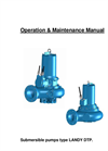 Centrifugal Pump - OM Manual DTP