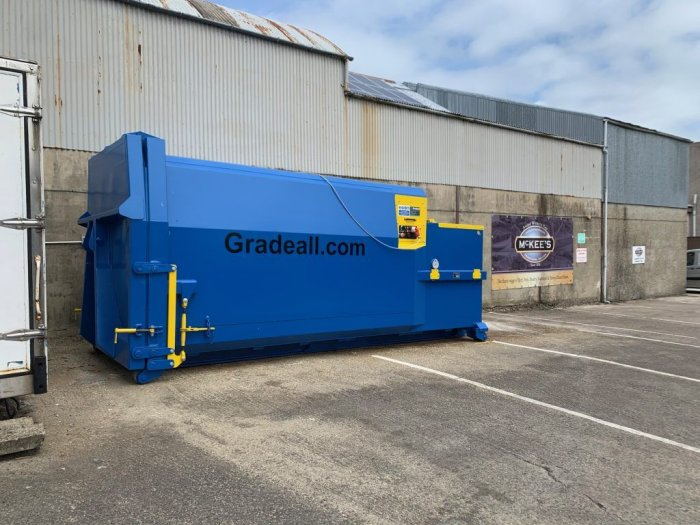 Handling wet waste is no problem for the GPC P24