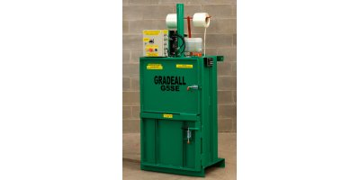 Gradeall - Model G5SE - Multi Purpose and Compact Vertical Baler