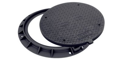 KIO - Model Round Class C250 - Manhole Cover (Composite Material)