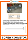 Screw Conveyor Brochure
