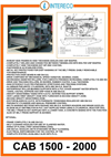 Belt Presses - Cab 1500 - 2000 Brochure