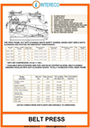 Belt presses - Edom Brochure
