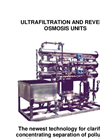 Ultrafiltration and Reverse Osmosis Units Brochure
