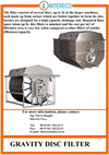 Gravity Disc Filter Brochure