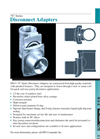 N Series - Disconnect Adapters Brochure
