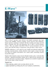 E-Wave - Wireless Switch Telemetry System Equipment Brochure