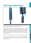 EPG TSP Submersible Pump – Environmental - Brochure