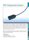 EPG TTE100-CX Temperature Sensor - Brochure