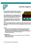 LevelMaster CHS1000 Liquid Level Meter - Brochure