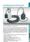 SJ Milliamp Sensor Float Switch - Brochure