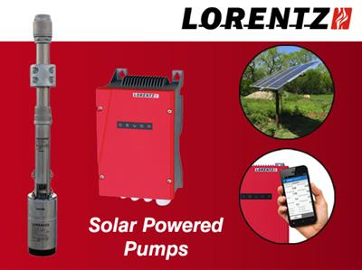 Lorentz - Model PS2-600 HR-07 - Solar Submersible Pump System