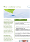 CMR Consultants - Water Consultancy Services Brochure
