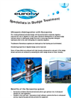 Eurosonics System - Ultrasonic Disintegration of Sludge Brochure (PDF 85 KB)