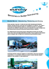 Mobile/Contract Dewatering Units Brochure (PDF 92 KB)
