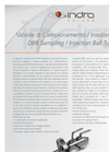 Model 597 S - 897 - DBB Sampling/Injection Ball Type- Brochure