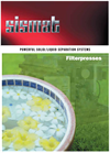 Powerful Solid/Liquid Separation Systems For Filterpresses Brochure