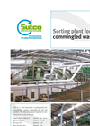 Sorting Plant for Commingled Waste Brochure