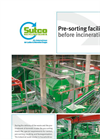Treatment Plants For Pre-Sorting Facility Before Incineration Brochure