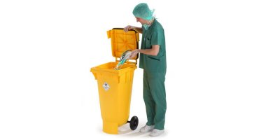 Bins for healthcare waste disposal - Waste and Recycling