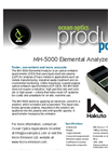 MH-5000-1 And MH-5000-2 Elemental Analyzers Brochure (PDF 1.398 MB)