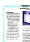Model RSS-1024/UVRSS-1024 Rotating Shadowband Spectroradiometer Brochure