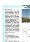 Model TMS-7000 Total Meteorological System Brochure