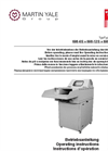 intimus POWER 14.95 High Through-put Solo Shredders Manual