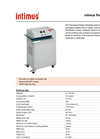 intimus PacMaster S Packaging Material Shredder Datasheet