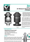 Air Release & Vacuum Breaker Valve (Threaded & Flanged) Series 33A Brochure