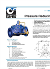 90-01/690-01 Pressure Reducing Valve Brochure