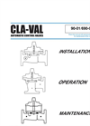 90-01/690-01 Pressure Reducing Valve Technical Manual