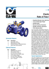 340-023640-02 - Electronic Actuated Rate of Flow Control Valve Datasheet