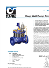 61-02KO/661-02KO Deep Well Pump Control Valve with KO Anti-Cavitation Controls Datasheet