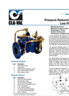Model 90-72 & 690-72 - Pressure Reducing Valve with Low Flow Bypass Datasheet