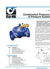 Model 92-01 & 692-01 - Combination Pressure Reducing and Pressure Sustaining Valve Datasheet
